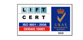 Lift Cert ISO Accredited logo