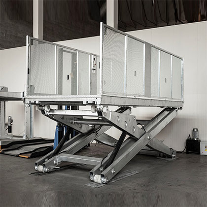 SPS Man-On-Board Car Platform Lift